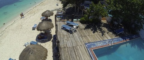 Terraza Solárium Hotel Faranda Maya Caribe Cancún