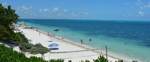 Playa privada Hotel Faranda Maya Caribe Cancún